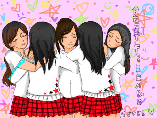 Two Best Friends Hugging Drawing Group hugging   2 of my bestTwo Best Friends Hugging Drawing